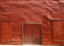 Red wall Texas