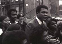 Ali, London, 1980