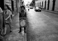Clock boy, Mexico