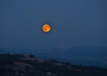 Moon over Morra
