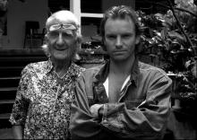 STING AND GILL EVANS, MONTSERRAT 1986