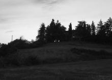 dusk scene